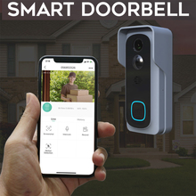 Tuya Wireless WiFi 1080P Video Doorbell with Battery Chime Cloud Storage Support