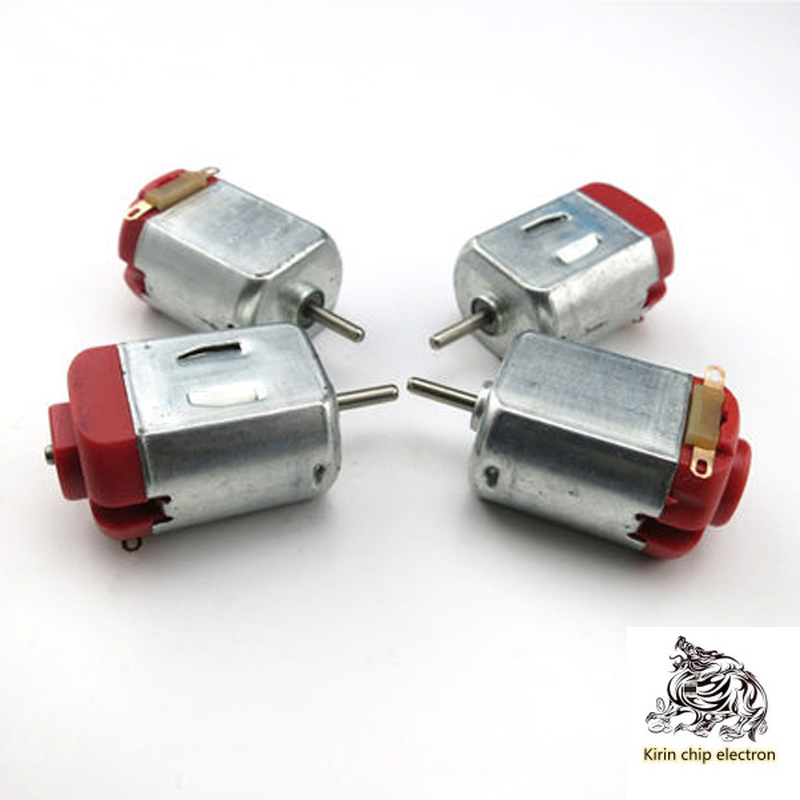 10pcs / Lot Micro 130 Motor Toy Car Motor DC Small Motor Scientific Experiment DIY Four-wheel Drive Car Motor