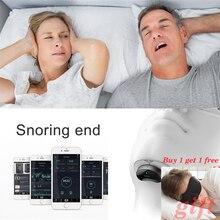 Easeful Snore stopper Anti Snurken Voorkomt Smart Anti Snurken Spier Stimulator Slaap Snurken Oplossing voorkomen Slaap Apneu CPAP