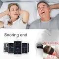 Easeful Snore stopper Anti Schnarchen Verhindert Smart Anti Schnarchen Muscle Stimulator Schlaf Schnarchen Lösung verhindern Schlafapnoe CPAP