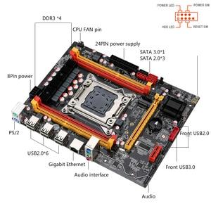 Image 5 - Kllisre X79 chipset motherboard with Xeon E5 2640 LGA 2011 2Pcs x 8GB= 16GB 1600 DDR3 ECC REG memory