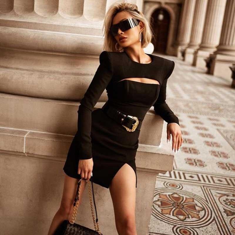 Модные Черные Платья 2021