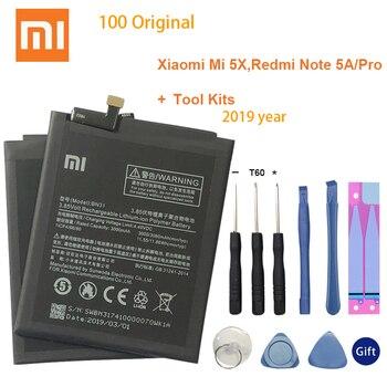 Original Battery For XIAOMI Mi A1 Mi 5X BN31 Redmi Y1 Lite S2 3000mAh Replacement For Xiaomi Redmi Note 5A Battery Note 5A Prime replacement 35mm hs366 6v4 5a ophthalmic lamp 6v27w op2366 p44s for haag straight hs900 930 neitz shin nippon
