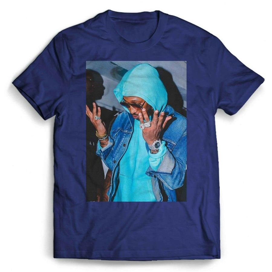 Rapper Future HNDRXX футболка для мужчин и женщин, индивидуальная футболка с круглым вырезом