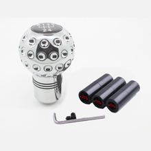 Universal Manual Gear Shift Knob Car Styling Shifter Stick Lever Adapter Manual 5 Speed  Transmission Car Accessories