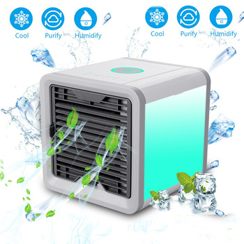 Air Cooler Arctic Air Personal Space Cooler Mini Fan  Water Cooling Space Air Conditioner Fan Device Home Office Desk 1