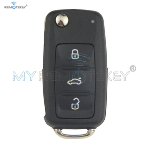 Remtekey 5K0837202AD flip key for VW VOLKSWAGEN Beetle Golf Jetta Eos Polo Tiguan caddy scirocco touran up 5K0 837 202 AD 202AD