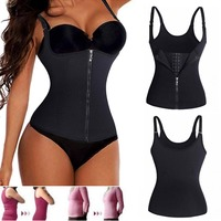 Women Fajas Reductoras Neoprene Slimming Body Shaper...