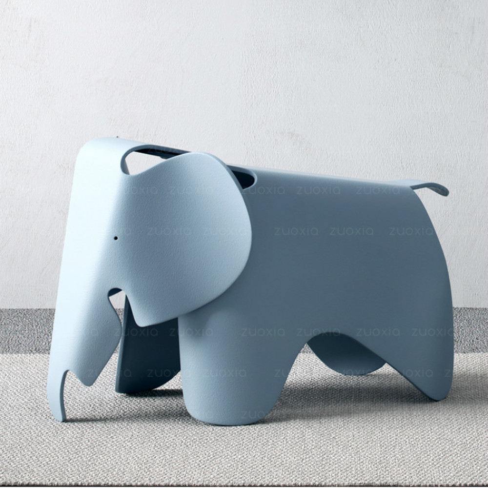 Ins Nordic Style Creative Decoration Elephant Chair Shoes Chair Stool Elephant Cute Children's Elephant Chair Kids Furniture