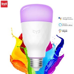 Image 2 - Yeelight bombilla LED inteligente, colorida, 800 lúmenes, 10W/8,5 W, E27 Lemon, para aplicación para hogares