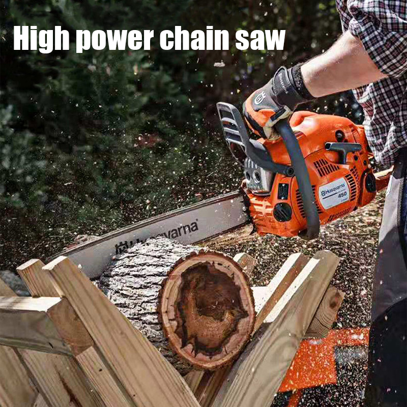Chainsaw Logging Saw Gasoline Saw Small Chainsaw Household Multi-function Chainsaw High Power Electric Chain Saw