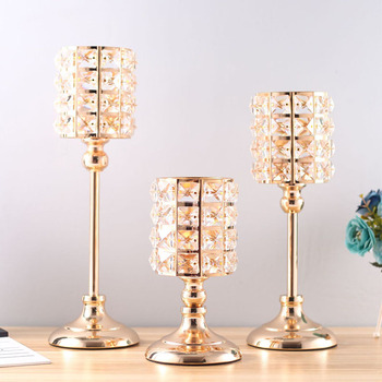 Nordic Modern Crystal Candle Holders 1