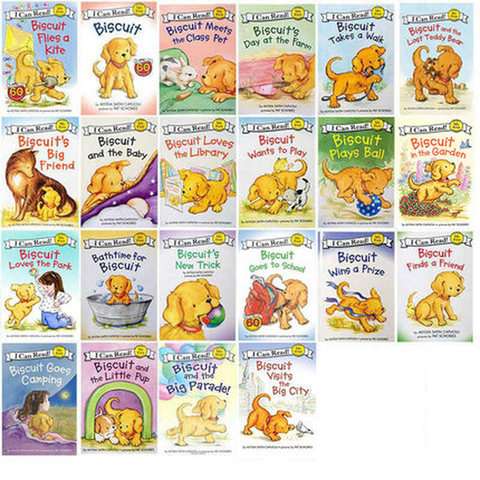 22 livros set da serie biscoito ingles