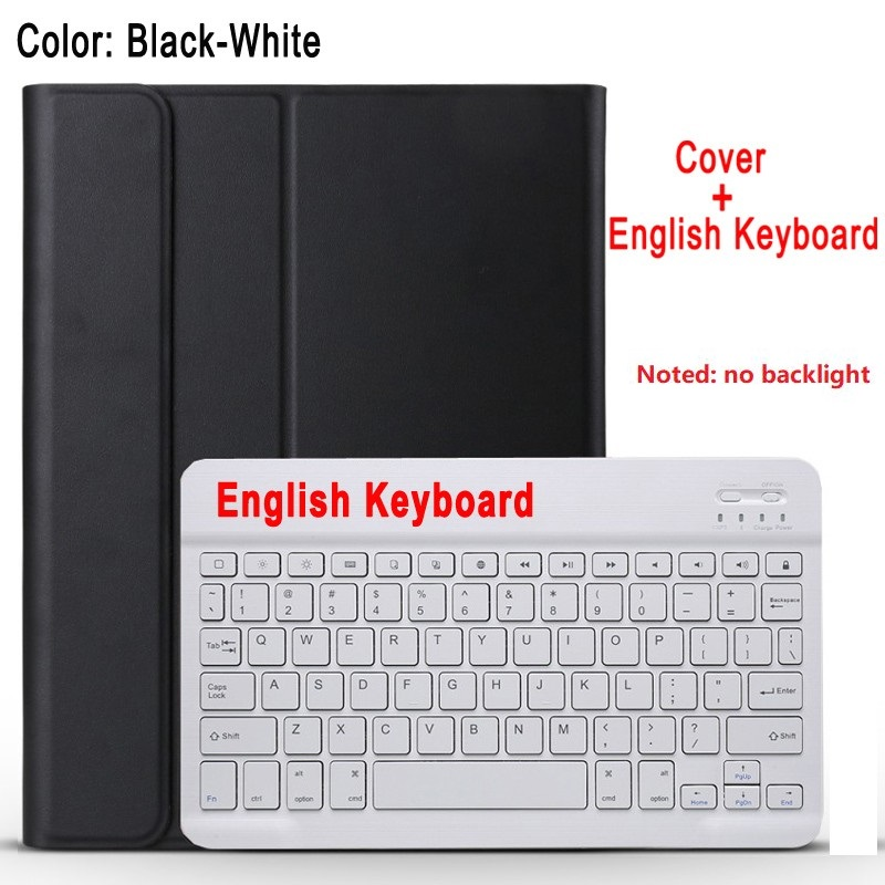 black with white Green For IPad 10 2 8 7 Generation 8th 2020 Case A2200 A2198 A2232 Slim Magnetic Bluetooth