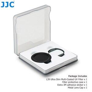 Image 5 - Сверхтонкий УФ фильтр JJC L39 с многослойным покрытием для Sony RX100 V RX100 VI RX100 VII, Canon G5X, Mark II, G7X, Mark II, G7X, Mark III
