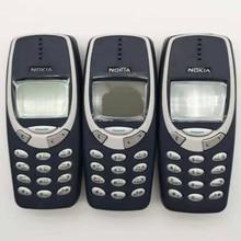 3310 мобильный телефон разблокированный Nokia 3310 дешевый телефон 2G GSM Поддержка Русский и арабский клавиатура мобильный телефон