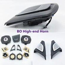 Tweeter midrange alto-falantes do carro subwoofer para bmw f10 f11 série 5 original de alta qualidade bo chifre áudio capa luminosa altifalante