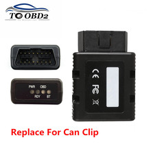 Free Ship For RENAULT COM Bluetooth OBD2 Diagnostic Programming Interface For Renault Vehicles Replace of For Renault Can Clip