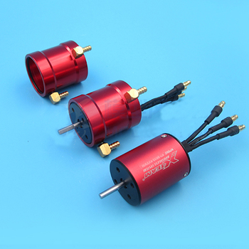 цена на 1PC High Power 2835 Brushless Motor KV3500 7.4V-14.8V/2S-4S Water Cooled Motors in 4mm Shaft for Electric RC Jet Boats Parts