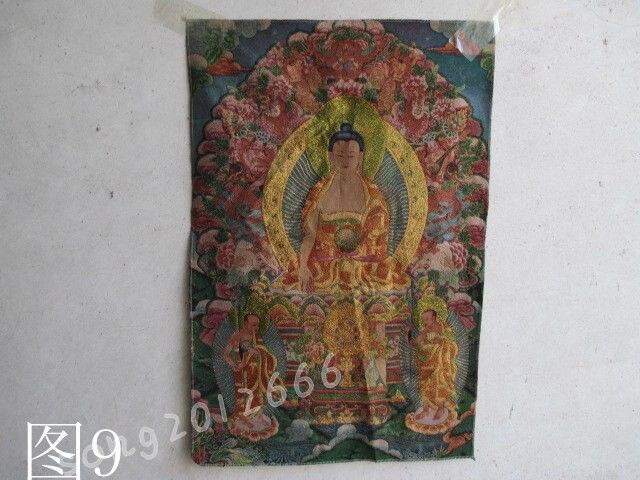 Tíbet  bordado de seda thangka guanyin bodhisattva|Statues & Sculptures| |  - title=