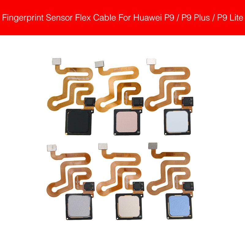 Home Button Fingerprint Sensor Flex Cable For Huawei P9/P9 Plus/P9Lite/G9/G9 Lite Menu Return Touch Flex Cable Repair Parts