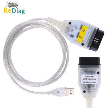 Reader Diagnostic scanner INPA DIS SSS NCS Coding For BMW From 1998 To 2008 Hot Sale INPA K+DCAN USB Interface For bmw OBD CAN image