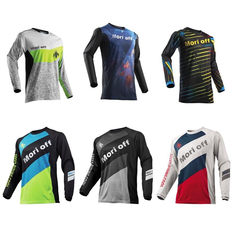 2021 мужские велосипедный спорт Велоспорт Джерси езда на велосипеде; Футболка с длинными рукавами для мотоцикла/MX ATV/BMX грязи