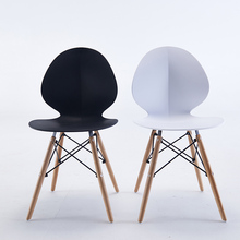 Nordic INS Plastic Chair Restaurant Dining Chair Cafe Bar Office Meeting Computer Chair Family Bedroom Learning Plastic Chair цена и фото