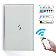 Interruptor calentador de agua inteligente WiFi para caldera, interruptor calentador de agua Smart Life, Tuya, Amazon, Alexa y Google Home