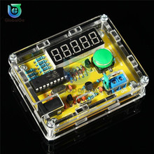 1Hz-50MHz Crystal Oscillator Frequency Meter Tester 5 digits Display Digital Frequency Counter with Case Frequency Counter Teste
