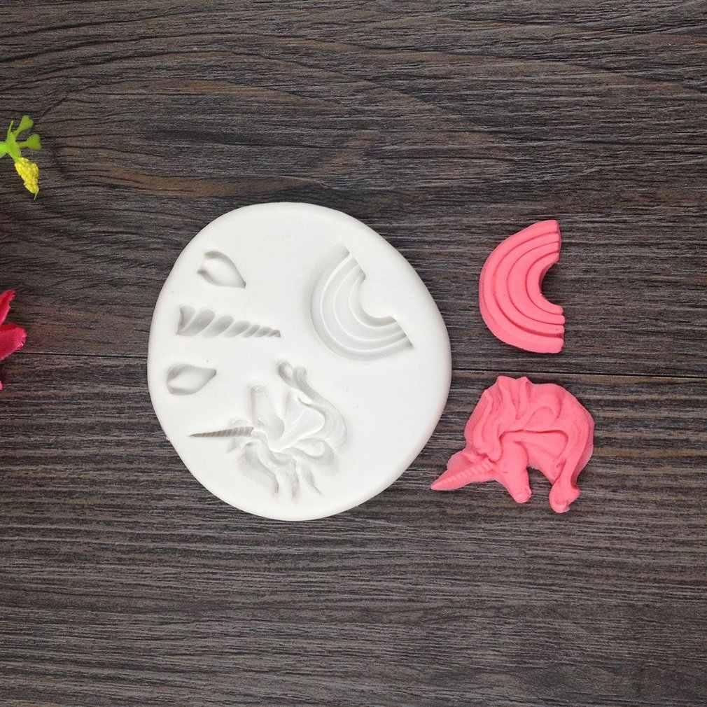 Bolo de aniversário pequeno animal molde de silicone mini fondant doces fazendo molde cozimento cupcake topper kit cozinha molde de cozimento