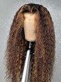 Парик из натуральных волос 13 х1 Hd 250, бразильские волнистые волосы без клея