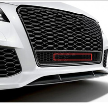 42 см большой решетка эмблема для Audi quattr0 A6L Q3 Q5 Q7 RS3 RS6 S4 стайлинга автомобилей спереди ниже соты значок четыре колеса с логотипом
