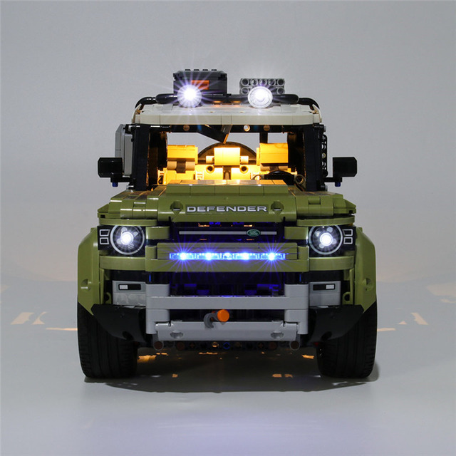 USB Powered Building Blocks LED Lighting Kit for 42110 blocks accessories (LED Included Only, No Kit) 2