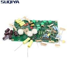 SUQIYA EAR834 HIFI RIAA مم (تتحرك المغناطيس) فونو مكبر للصوت 12AX7 أنبوب ستيريو PCB لتقوم بها بنفسك عدة Preamplifier PCB لوحة دوائر كهربائية