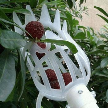 Narzędzia ogrodnicze zbierak do owoców głowa PlasticFruit Picking Tools owoce łapacz zbieranie jabłko cytrusowe gruszka brzoskwinia narzędzia ręczne tanie i dobre opinie Z tworzywa sztucznego White Orange Fruit Picker Fruits Picking Tool Fruit Catcher Garden Greenhouses Tools