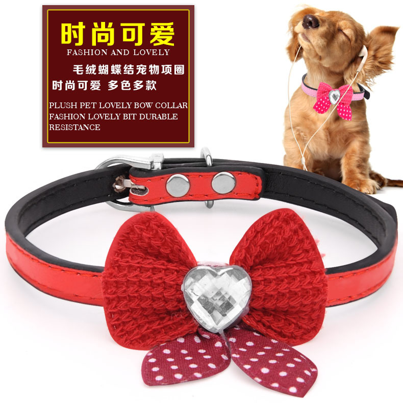 Flower Dog Neck Ring Pet Small Dog Collar Small Dogs Accessories Lace Bow Dog Neck Ring