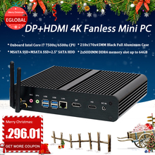Eglobal Fanless Mini PC…