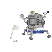 XINGBAO 16001 Space Exploration Series The Apollo Satellite Sets Building Blocks Aerospace Spacecraft Bricks Compatible Legoings 16024 534pcs ideas movie series the big bang theory building blocks bricks toys compatible with legoings 21302