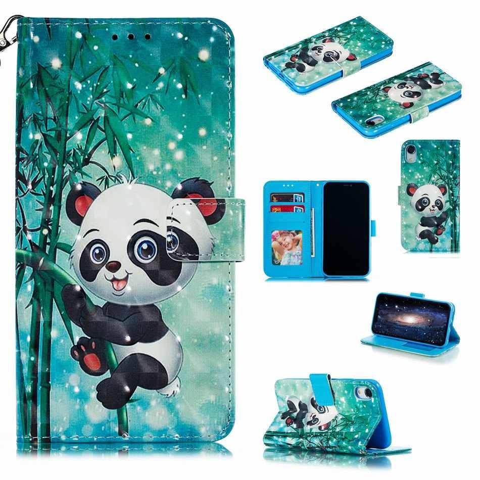 Ragazzi Delle Ragazze Del Modello della Cassa Del Telefono Per La Copertura di apple iphone 11 Pro Max 2019 XR XS X 7 8 6s 6 più Della Farfalla Panda Elefante Tigre DP15F