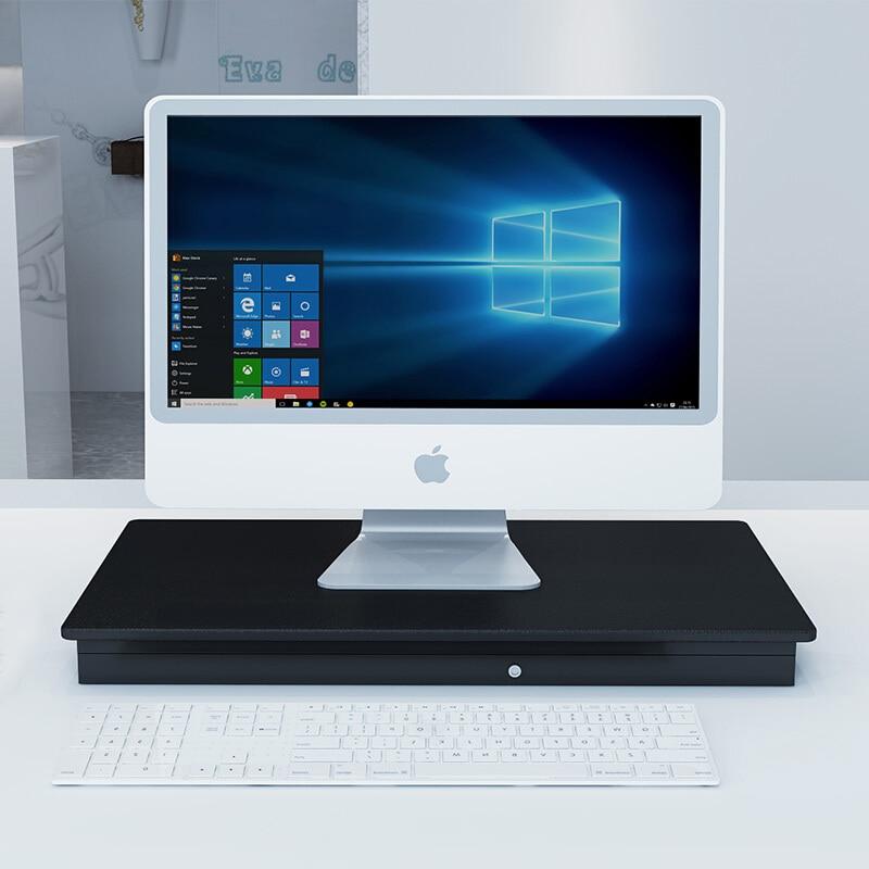 Стол с регулируемой высотой и подставкой для работы, стол для ноутбука, Легкий домашний офисный подъемник, подъемный стол - 2