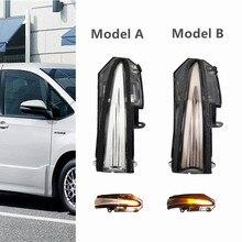 For Toyota RAV4 XA40 13-18 Highlander 4Runner 14-19 Noah R80 Voxy Dynamic Turn Signal Blinker Mirror LED Indicator Light