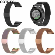 Stainless Steel Watch Strap Quick Release Wristband for Garmin Fenix 6/6S/6X Kit