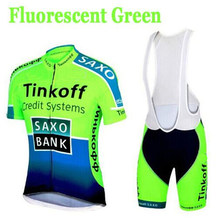 Factory Direct Sales! SaxoBank Tinkoff Cycling Jerseys suit / Cycling clothing Quick Dry Cycling Breathable Cycling sportswear