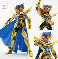 Newest Anime In Stock Saint Seiya / myth cloth metal club Cancer Dethmask Myth EX Gold Saint /OCE color Metal Action Figure