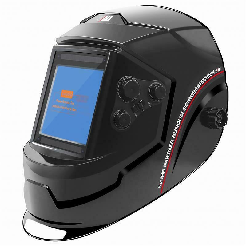 Automatic Welding Helmet Wig Tig Mma Mig Mag Welding Helmet Auto Darkening Mask Professional Eye Protection