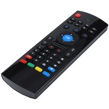 Portátil de 2,4G inalámbrico MX III TV box Control remoto controlador remoto de teclado ratón de aire para mini PC HTPC Android TV box(China)