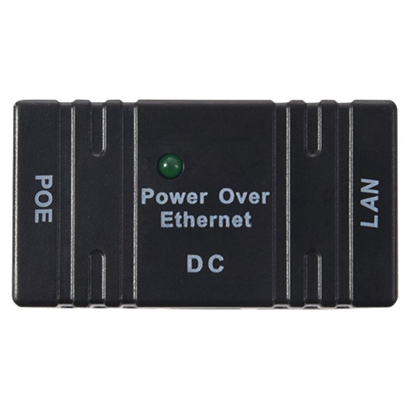 10x Passive PoE Injector Splitter Over Ethernet For IP Camera LAN Network