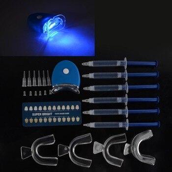 цена на Teeth Whitening 44% Peroxide Dental Bleaching System Oral Gel Kit Teeth Whitener New Dental Equipment 10/6/4/3pc Oral hygiene