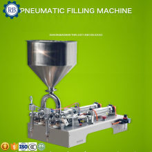 Widely Used Semi-Automatic pneumatic liquid /paste cosmetic/food filling machine,essential oil filling machine(China)
